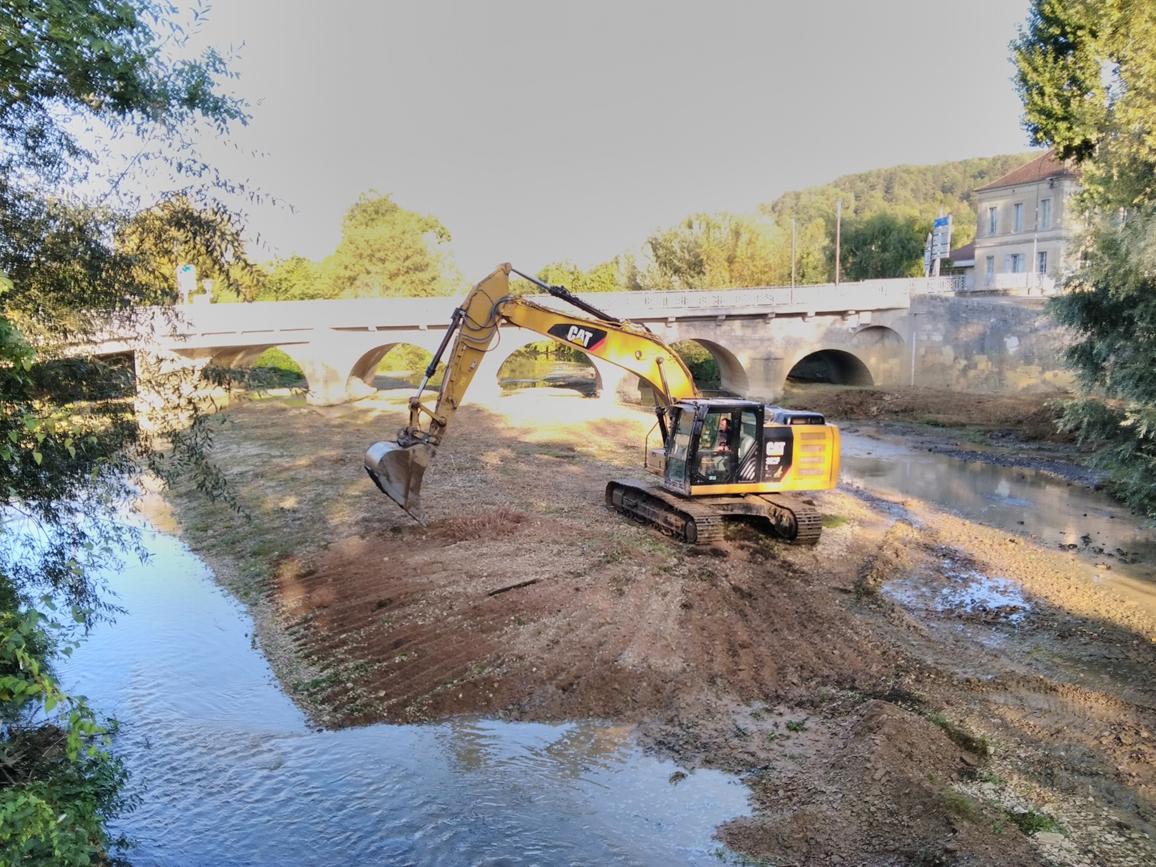 rivières du bassin seine amont: aménagement d'îlots végétalisés sur