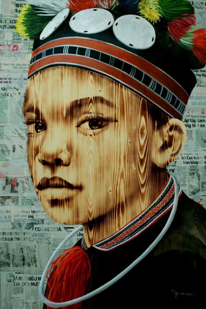Вьетнамский художник.