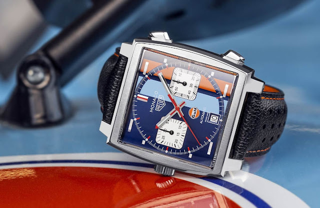 TAG Heuer Monaco Gulf Special Edition 50th Anniversary