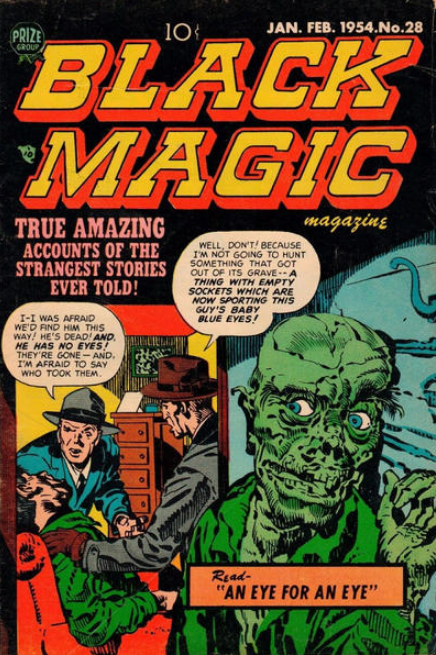Jack Kirby Black Magic 28