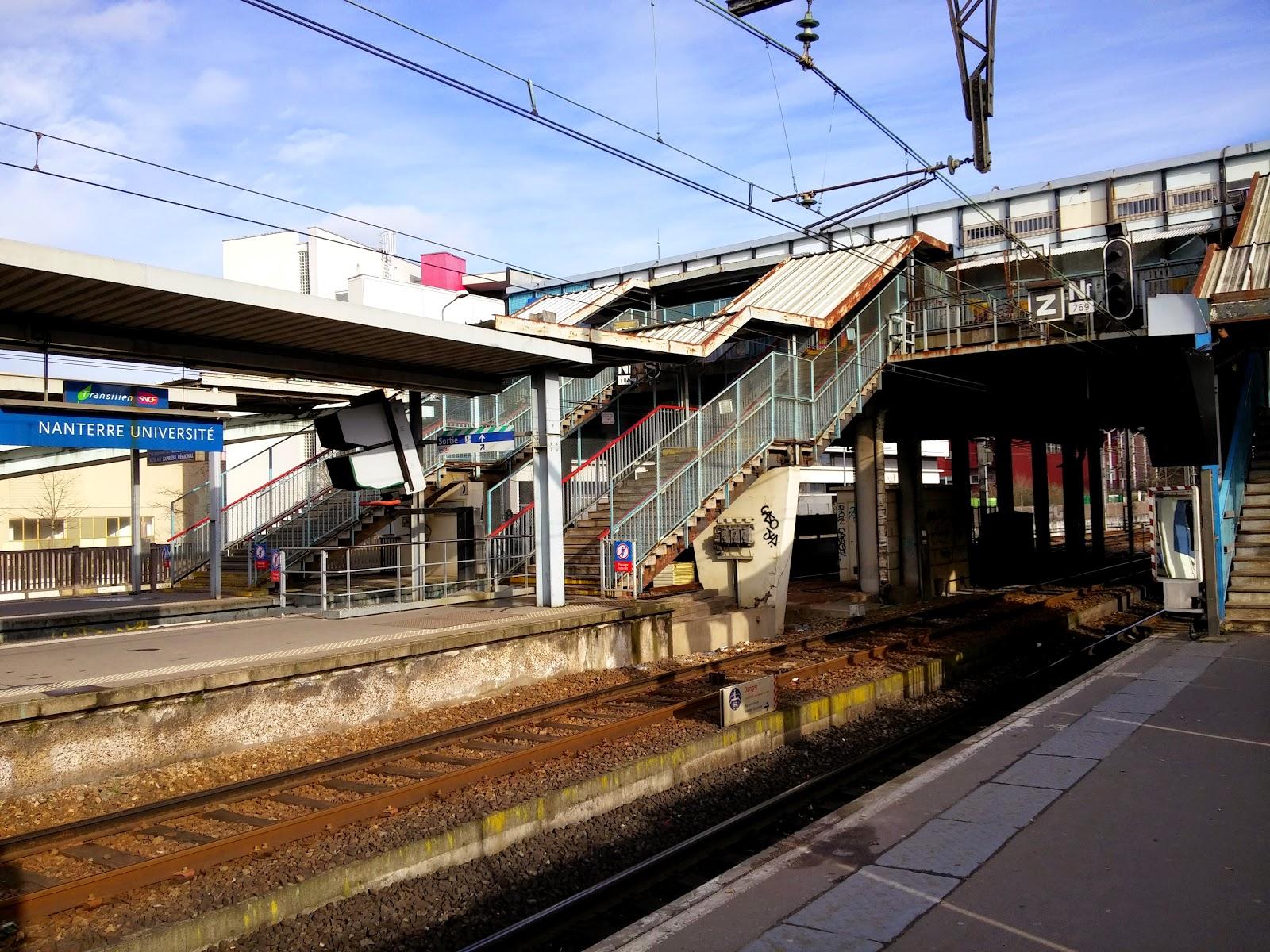 La ville de nanterre vue autrement la future gare - Piscine nanterre universite ...