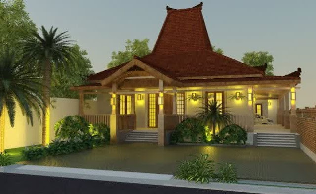 konsep rumah minimalis tradisional Modern