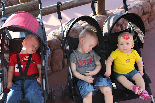 Crianças pequenas em Orlando