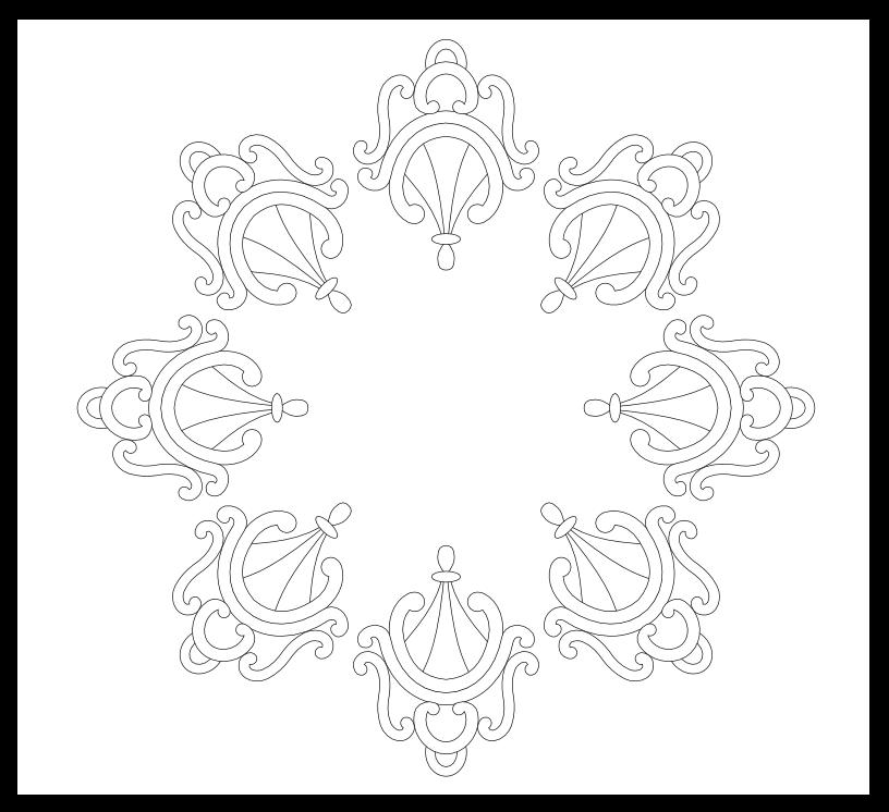 Imaginesque: Zen Curls Pattern
