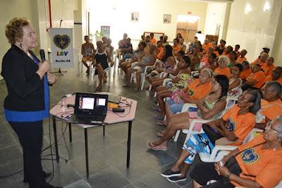 LBV promove ação no combate à violência às mulheres