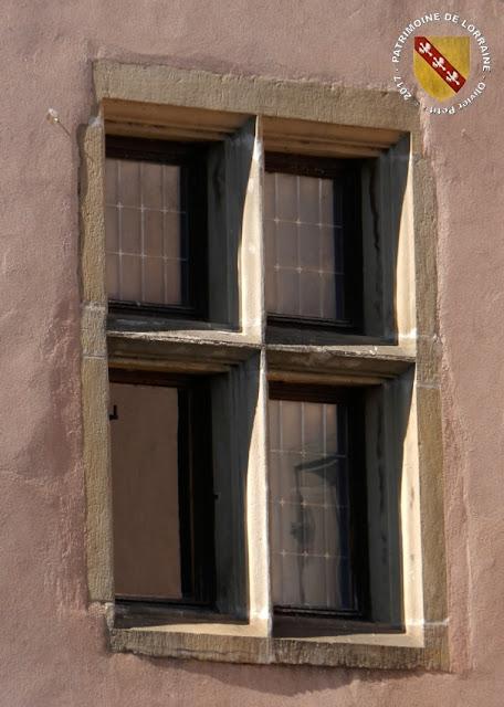 RECHICOURT-LE-CHATEAU (57) - Un château renaissance