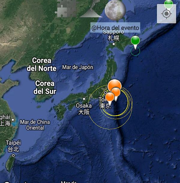 2 sismos moderados se han registrado en japon en menos de 30 minutos.