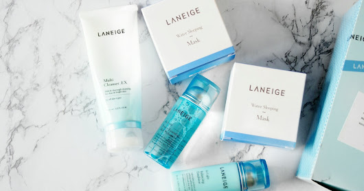 Restocking my All Time Favourites Laneige skin care collection
