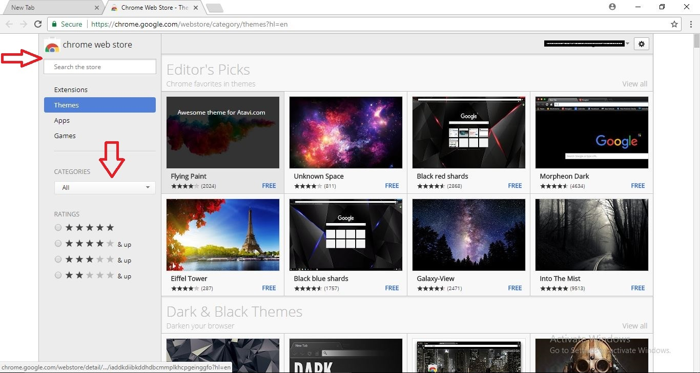 Apne Google Chrome Browser Me Background Theme Change Kare