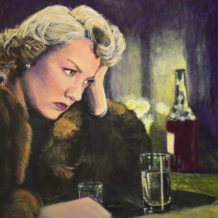 "Картины в стиле ""noirscapes"". Jane Ianniello"