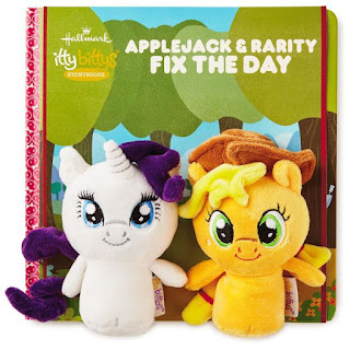 Hallmark Lists Applejack & Rarity Itty Bittys + Slap Bracelets