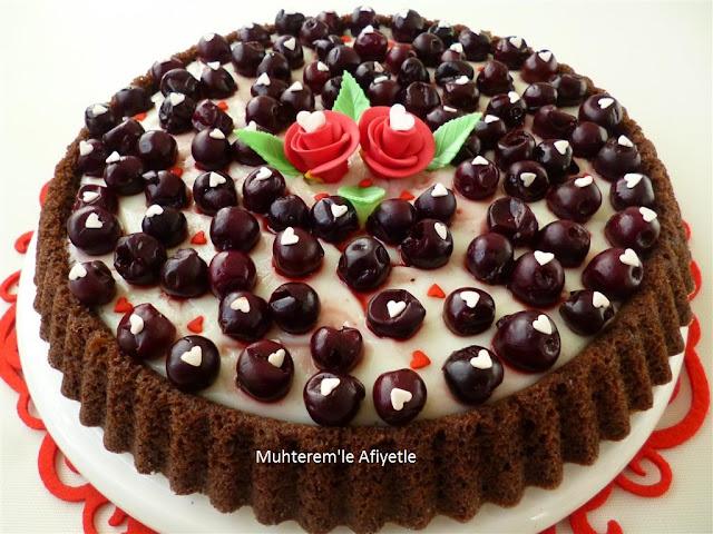 vişneli tart kek nasıl yapılır?