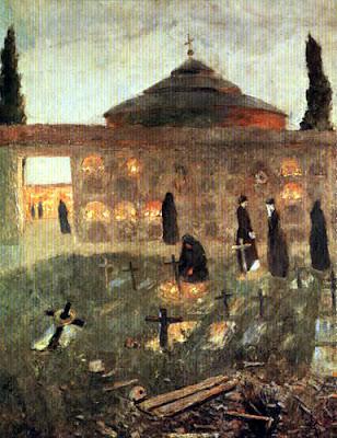 Darío de Regoyos, Noche de difuntos