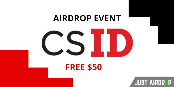 CSID Airdrop - Free $50