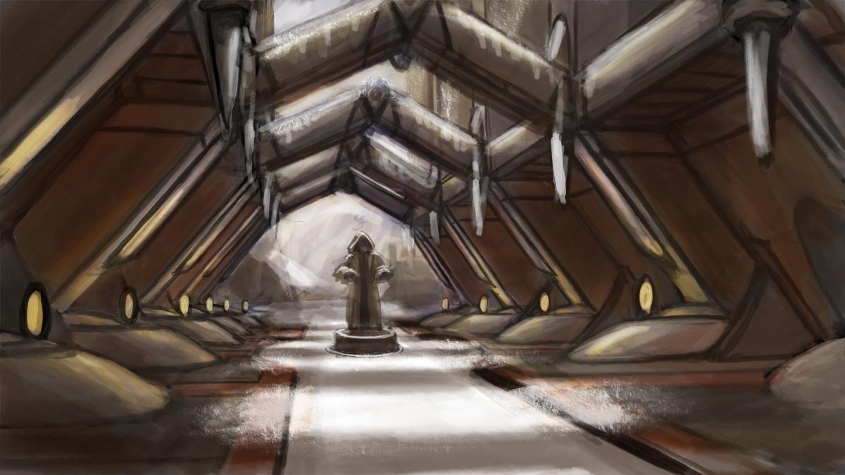 Sam Keisers Art Jedi temple