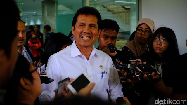 Mundur dari MenPAN-RB, Asman Abnur Pamit Menghadap Jokowi