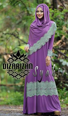 Model Baju Gamis Muslim Untuk Pesta Pernikahan Modern