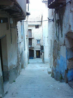 lo castellá, lo castellà, barrio, Beceite, Beseit, casco antiguo de Beceite 2