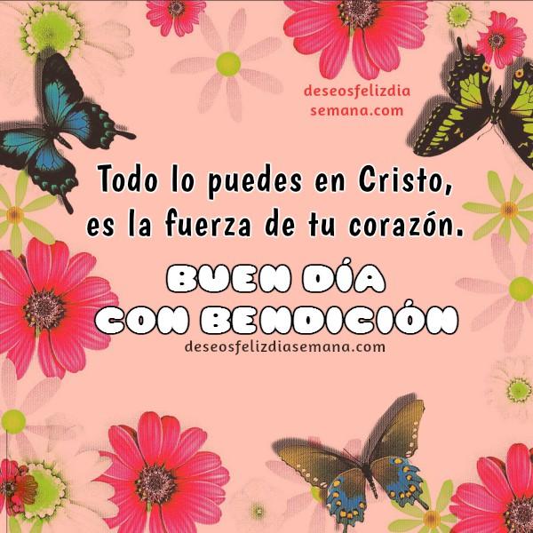 Buenos días, buenos deseos feliz jueves viernes, lunes, martes, imágenes con frases cristianas, mensaje con versiculo por Mery Bracho