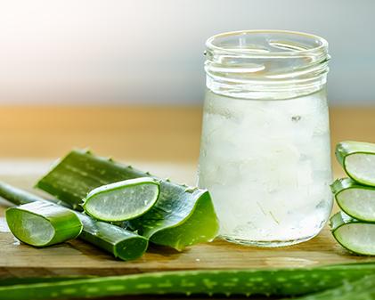 Natural Aloe vera summer cooler