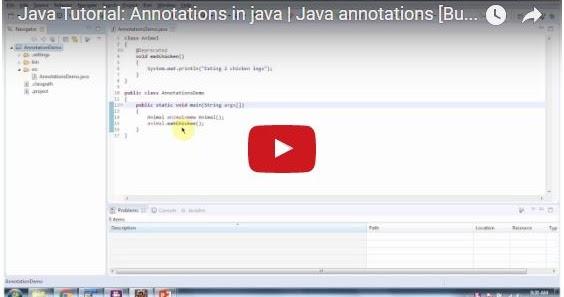 Java ee java tutorial annotations in java java for Pool design pattern java