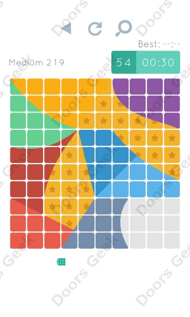 Cheats, Walkthrough for Blocks and Shapes Medium Level 219