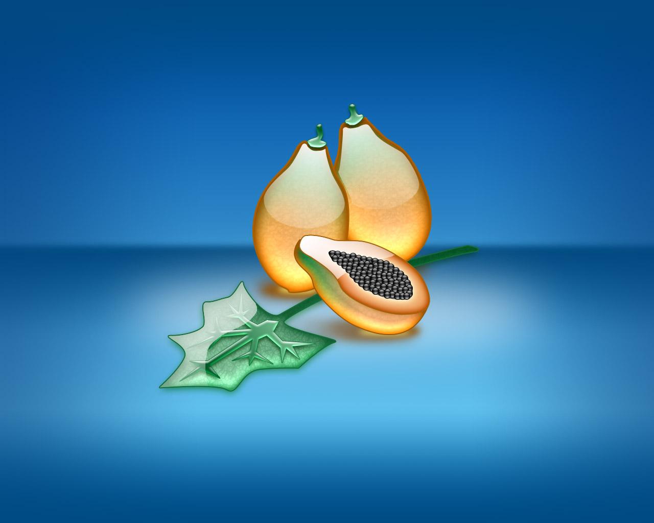 aqua papaya wallpaper abstract - photo #2