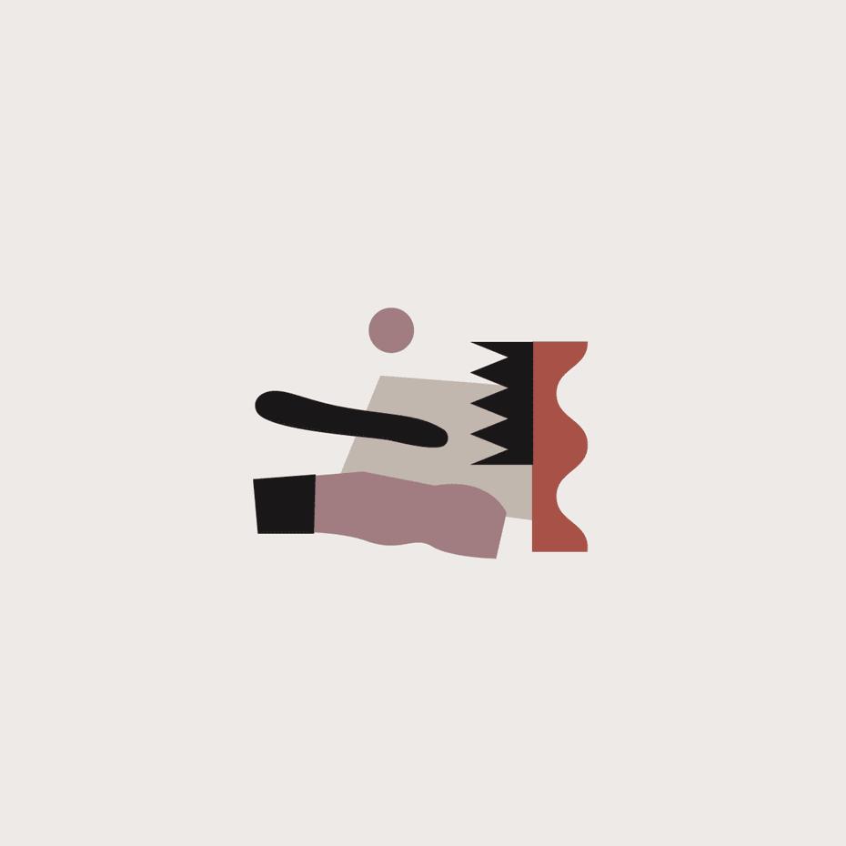 Trend Desain Logo 2019 - New Age geometry