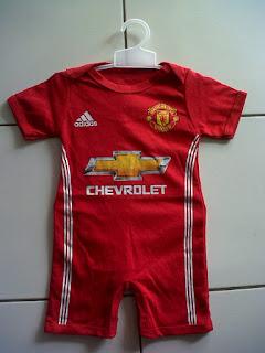 Jual Jersey Bayi (Jumper) Manchester United Home di toko jersey jogja sumacomp, murah berkualitas