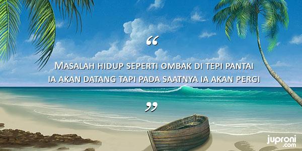 50 Kata Kata Caption Tentang Ombak dan Pasir Pantai