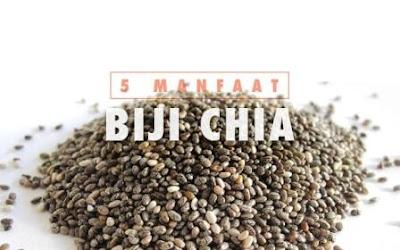 makanan sehat untuk jantung yang pas dikonsumsi sehari-hari, Biji Chia