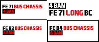 Variant Colt Diesel Bus Chassis - Sasis Bis