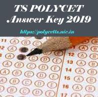 TS CEEP Answer Key 2019, TS POLYCET 2019 Answer Key