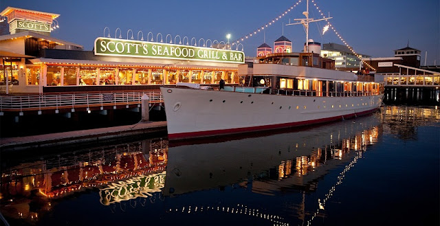 Restaurante Scott's Seafood Restaurant em Oakland