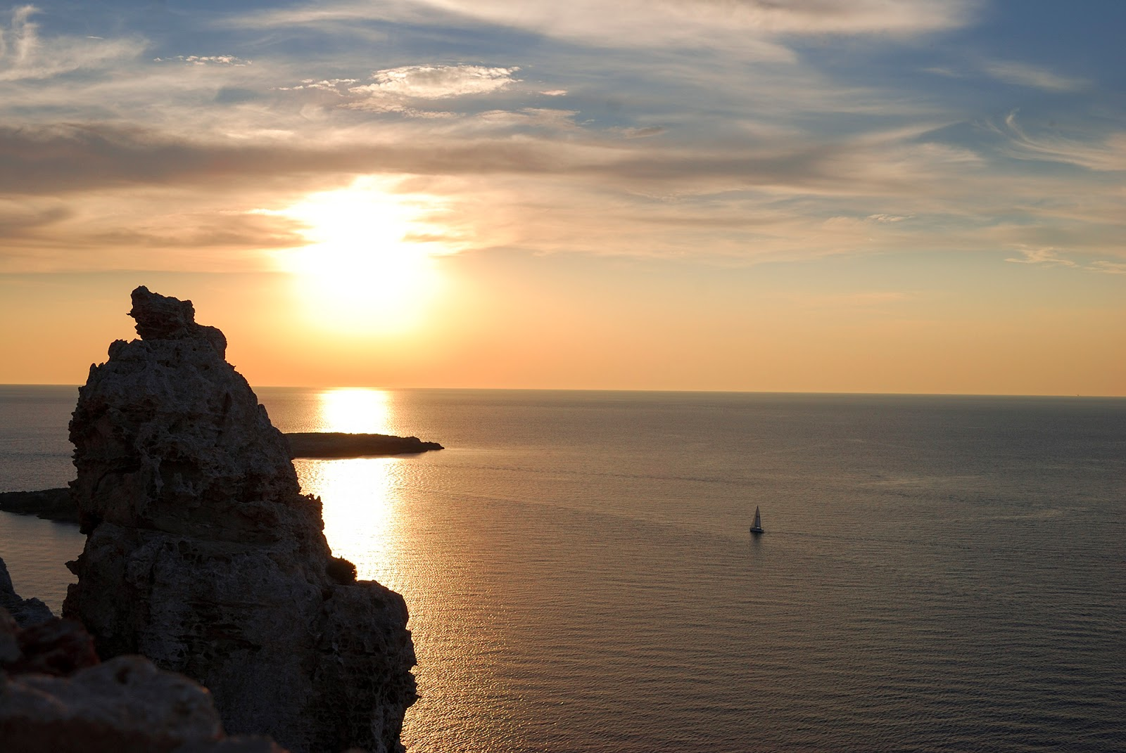 Sunset Menorca Spain Cavallaria lighthouse itinerary what to do