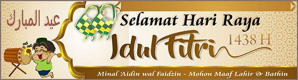 Banner Selamat Idul Fitri 6
