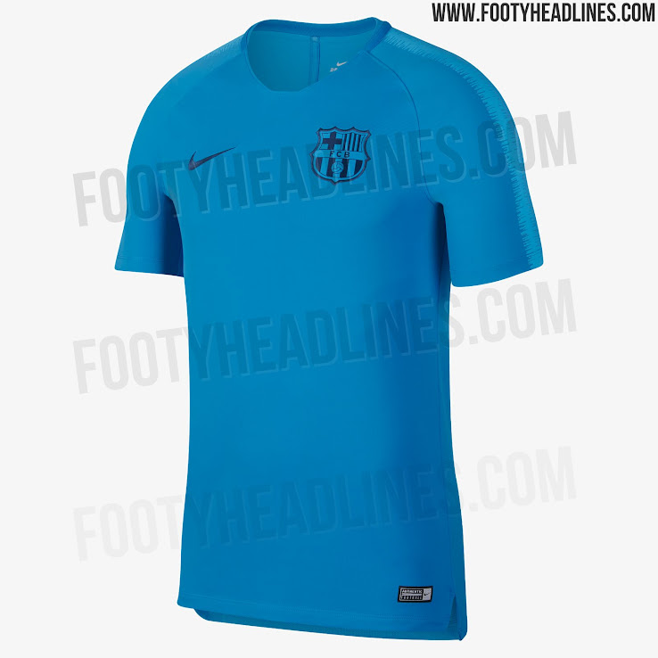 sale retailer db9d4 92580 Barcelona training kit for the second part of 2018/19 season ...