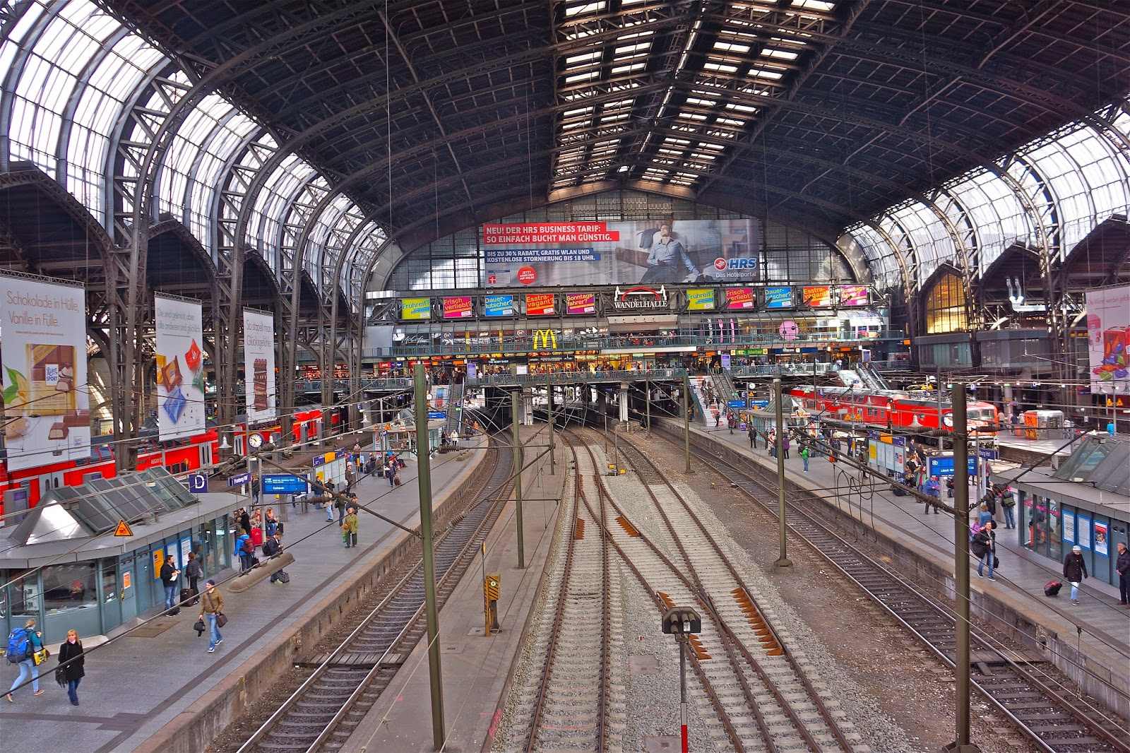 Hamburg Hauptbahnhof |Photoblog On-The-Go