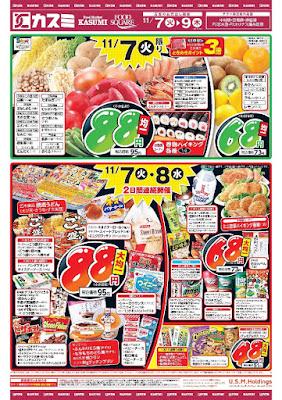 【PR】フードスクエア/越谷ツインシティ店のチラシ11月7日号