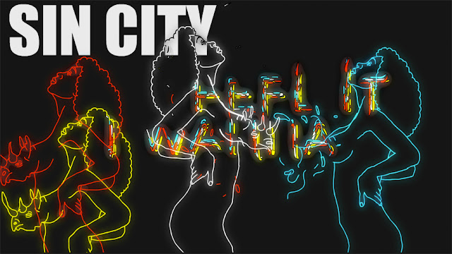 Videokunst : Zwei mal Sin City ( 2 Videos ) - Walt Disneys SIN CITY als Trailer Mash Up