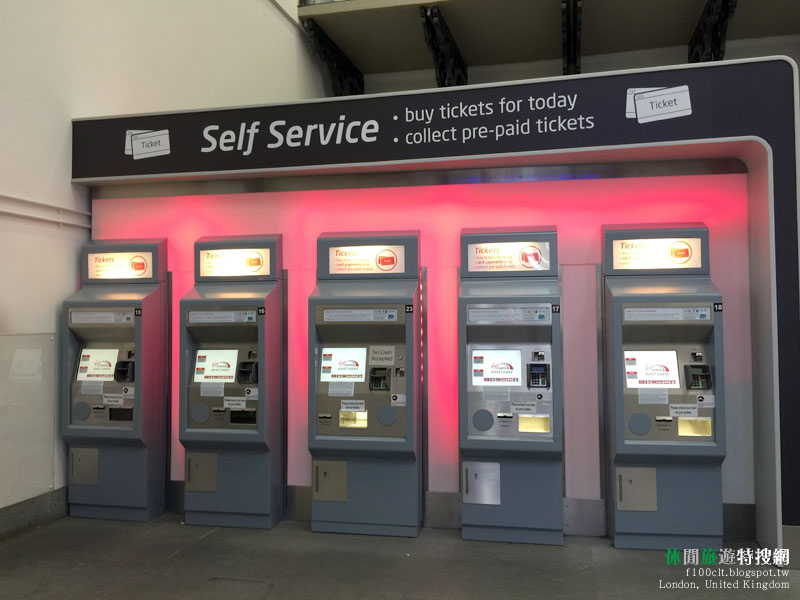 倫敦 劍橋 英國火車鐵路往返方式、購票方式