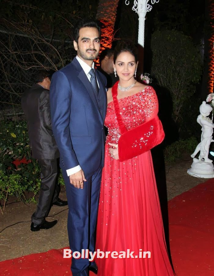 Bharat Takhtani, Esha Deol, Ahana Deol Wedding & Reception Pics