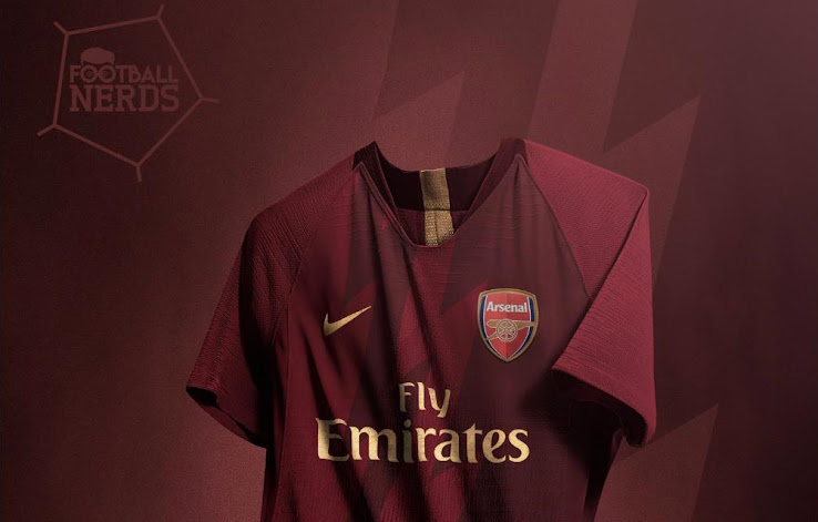 51a2cb9f37b Stunning Nike Arsenal Home Kit Concept by Rupertgraphic - Footy ...