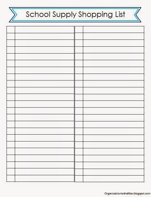 Doc500647 Printable Office Supply List Office Supply Tip and – Printable Office Supply List