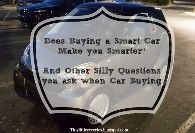 Car shopping for Smart Cars. How do you know when a Smart car is right for you.