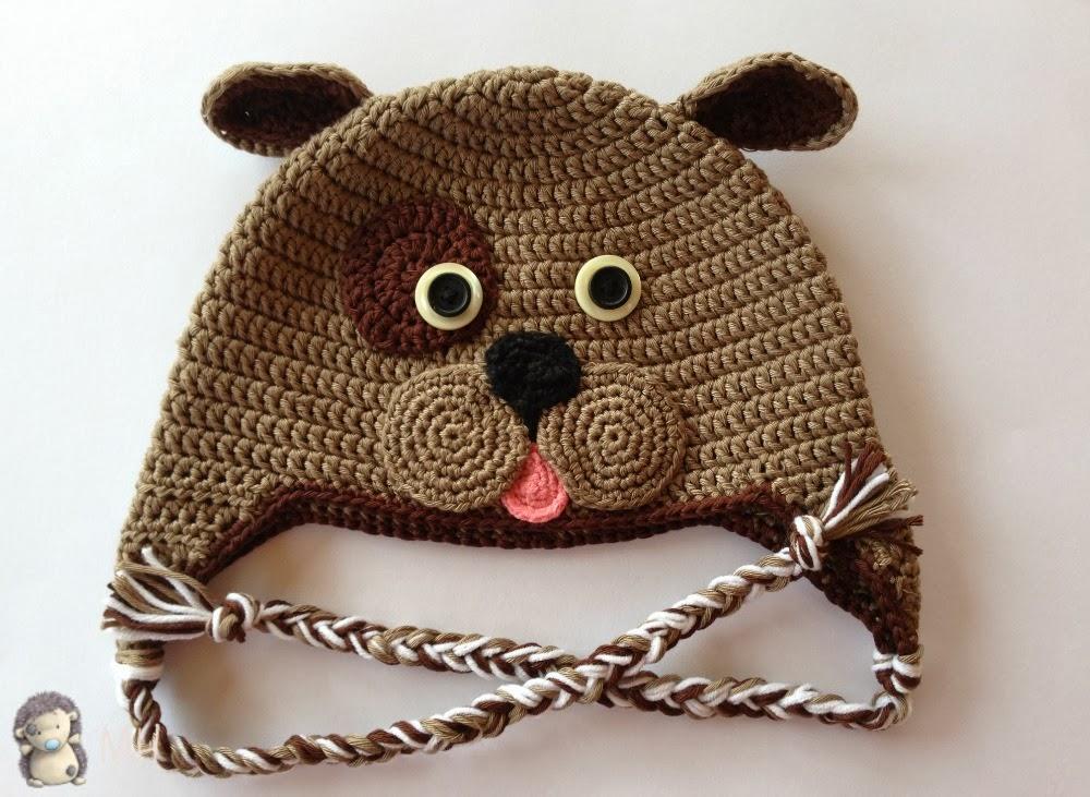 Gorro perrito a crochet