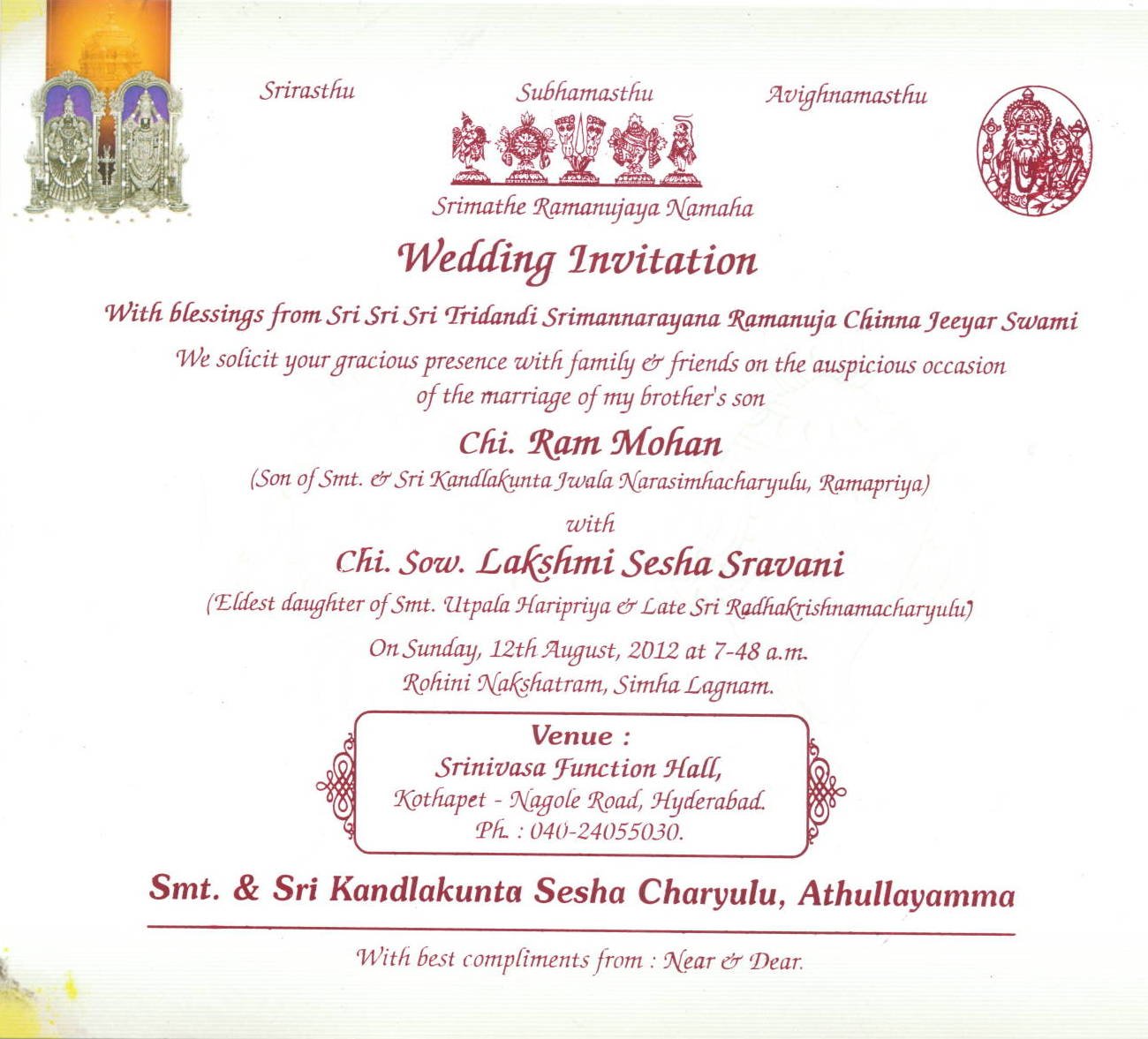 Wedding Invitation Message In English Image Collections Party Hindu Wording Samples Choice