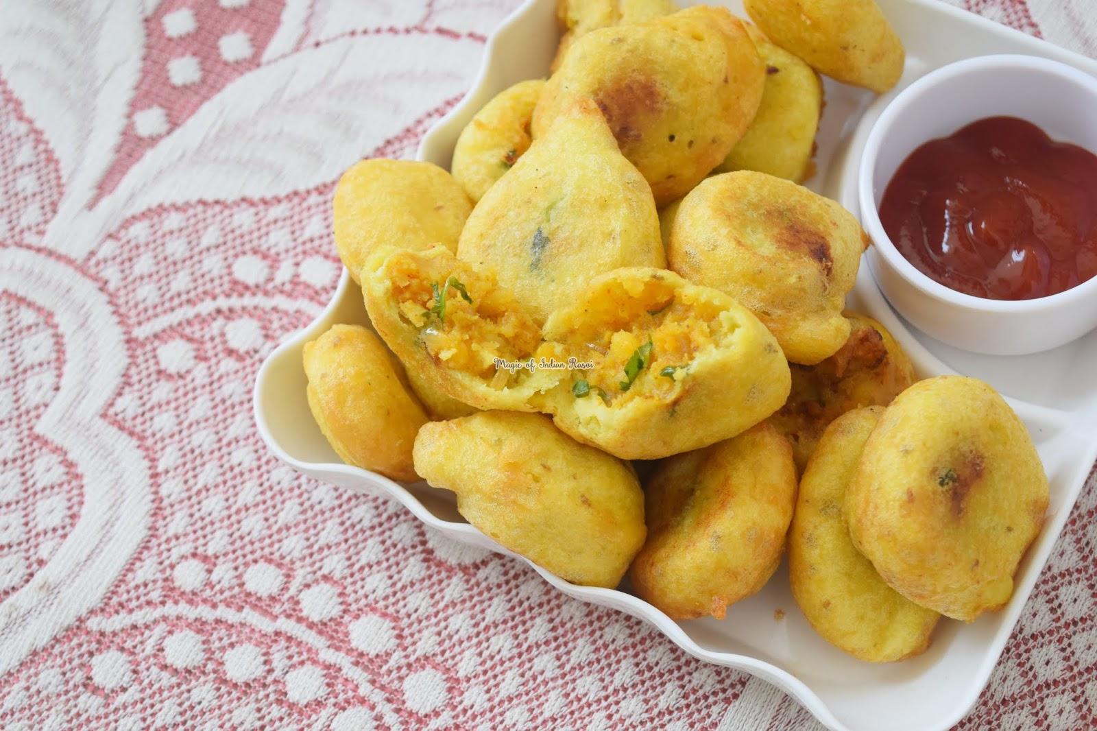Mixed Dal Pakoda Recipe -  मिक्स दाल के पकोड़े रेसिपी - Priya R - Magic of Indian Rasoi