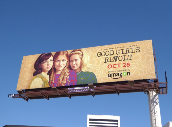Good Girls Revolt series launch billboard