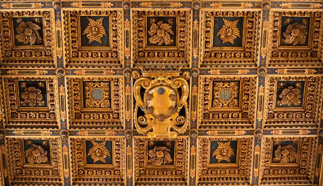 Techos Interior El Duomo Pisa